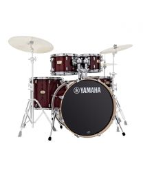 Yamaha Stage Custom Birch 22'' 5pc Shell Pack, Cranberry Red