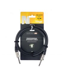 Stagg Professional Speaker Cable 1.5M