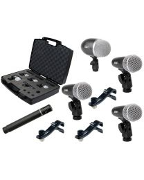 Proel DMH5XL 5 PC Mic Set for Drums