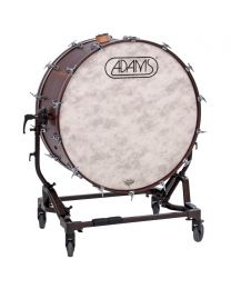 Adams Concert Bass Drum with Tilting Stand and Cymbal Holder 36""