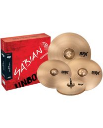 Sabian B8X Performance set Plus with extra 18inch thin crash