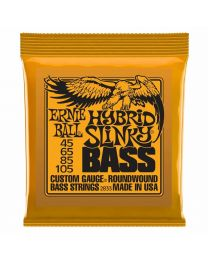 Ernie Ball 2833 Hybrid Slinky Electric Bass Strings (45-105)