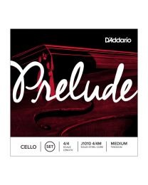 D'addario Prelude J1010 4/4M Medium Strings Set