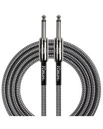 KIRLIN 20 FT STRAIGHT CABLE - BLACK