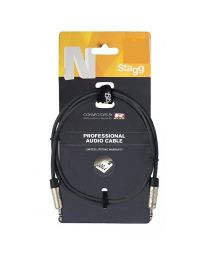 Stagg Professional Audio Cable 1M