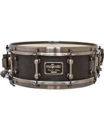 "Majestic 14""x5"" Maple Concert Black Snare Drum - Mega Combo Snares"
