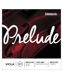 D'Addario Prelude Viola Medium Scale, Medium Tension Set