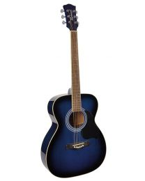 Richwood RA-12-BUS Artist series Acoustic Guitar - Blue Sunburst