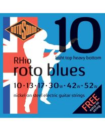 Rotosound RH10 Roto Blues Electric Guitar Strings Gauge 10-52