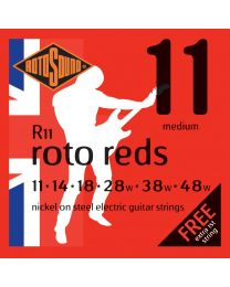 Rotosound R11 Roto Reds Electric Guitar Strings Gauge 11-48