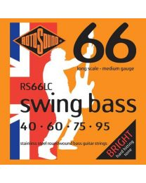 Rotosound RS66LC Stainless Steel Swing Bass Guitar Strings Gauge 40-95
