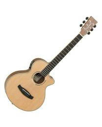 Tanglewood DBT TCE BW Discovery Travel Electro Acoustic - Black Walnut