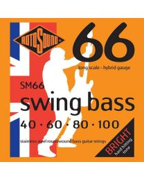 Rotosound SM66 Stainless Steel Swing Bass Guitar Strings Gauge 40-100