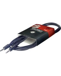 Stagg SAC1MPS Stereo Mini Jack Cable, 1m/3ft