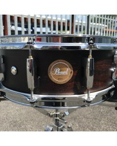 "Pearl 14"" x 5"" Concert Snare Drum - Matte Walnut - With case"